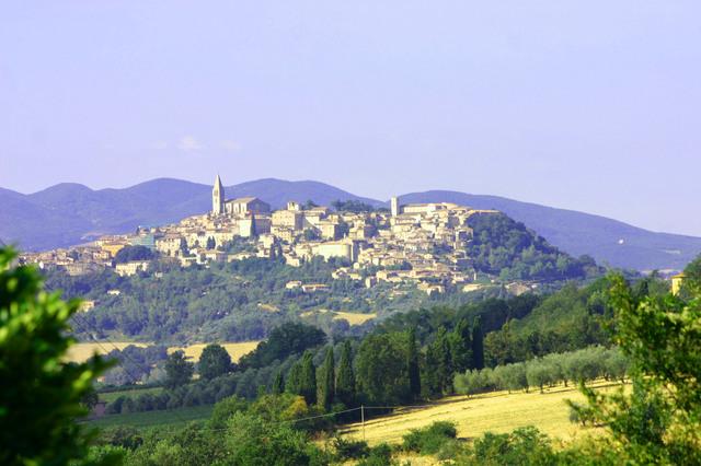 Todi in Italy